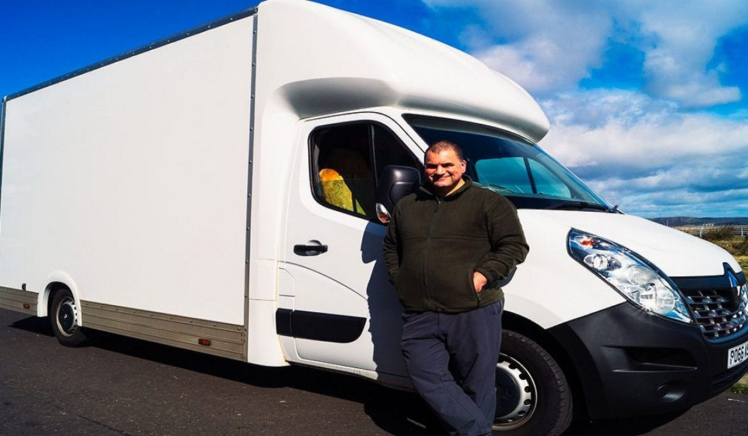 We provide professional man with a van service in Perth