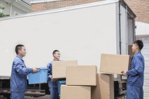 professional moving crew
