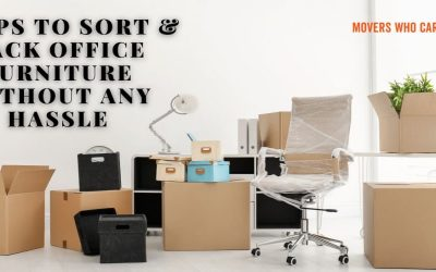 8 Tips To Sort & Pack Office Furniture Without Any Hassle